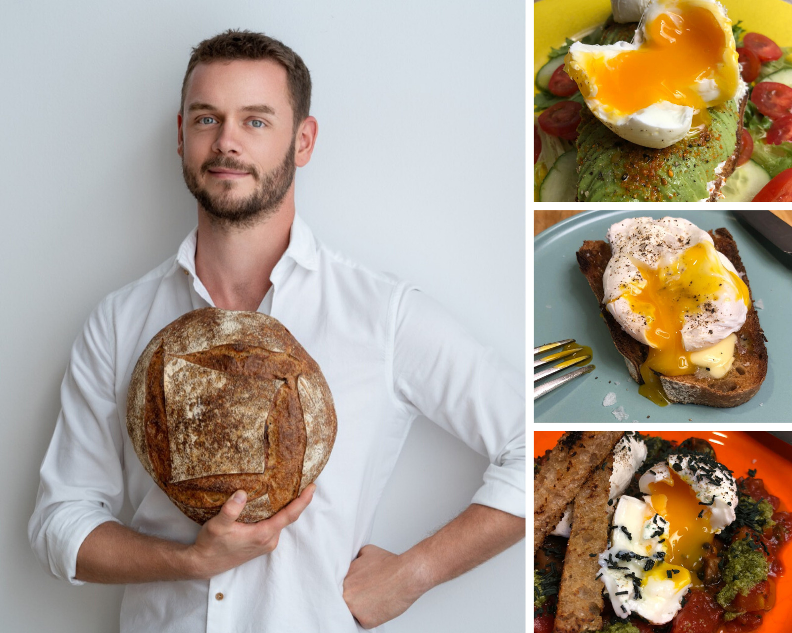 Poached Eggs, a recipe by Tom Rees