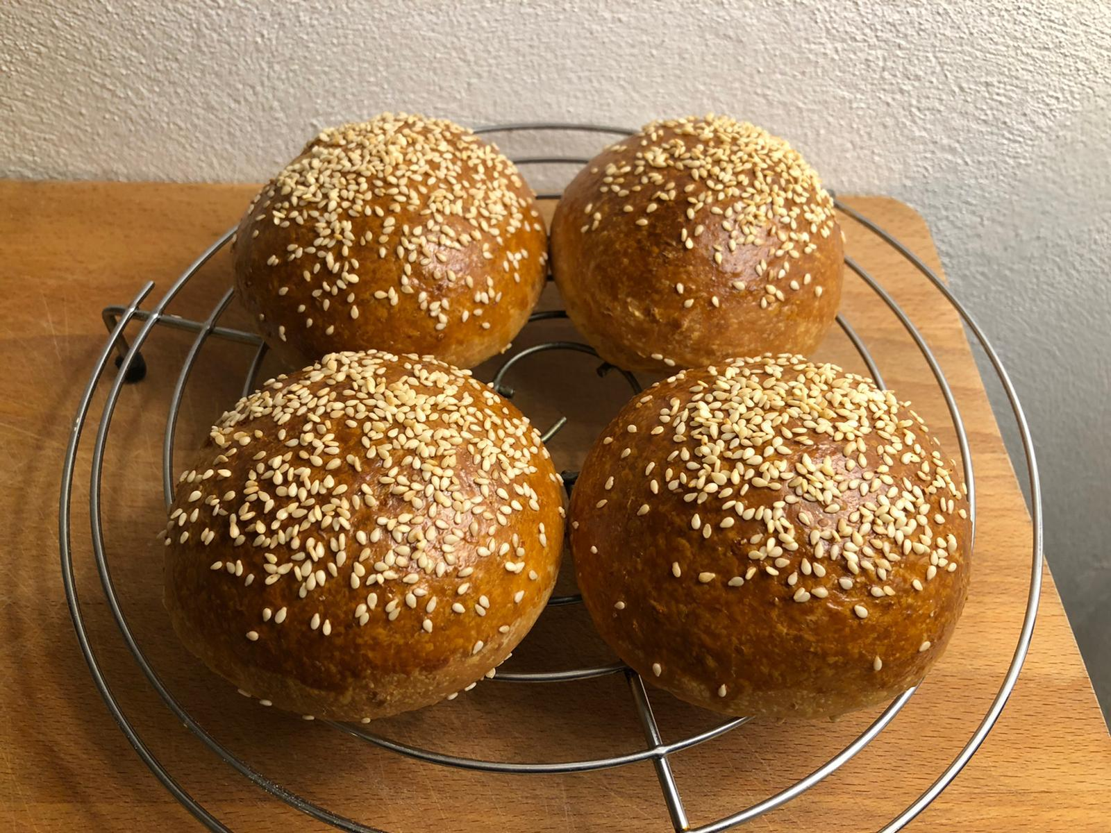 How to make Burger Buns, a recipe by Tom Rees