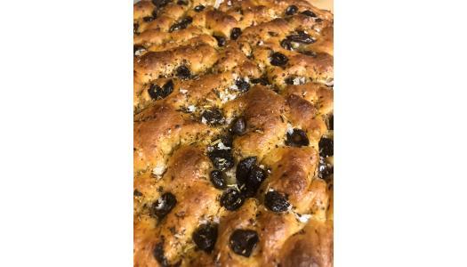 Focaccia, o rețetă simplă, de post, de la Tom Rees, patiser boulanger Pain Plaisir