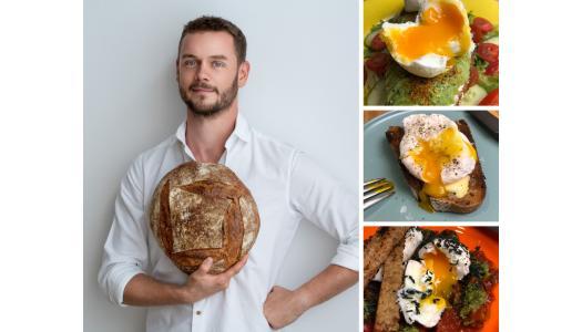 Cea mai simplă rețetă de ouă poșate, cu Tom Rees, patiser boulanger Pain Plaisir