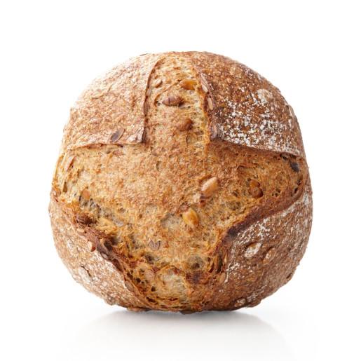 Pâine integrală de grâu cu seminţe de dovleac