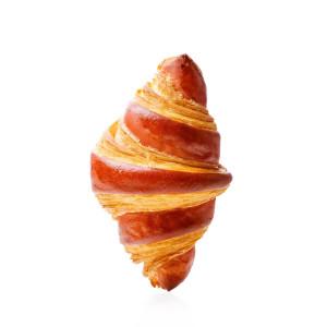 Croissant cu zmeură