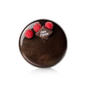 Tort ciocolată și zmeură 2 pers