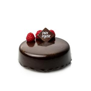 Tort ciocolată și zmeură 6 pers