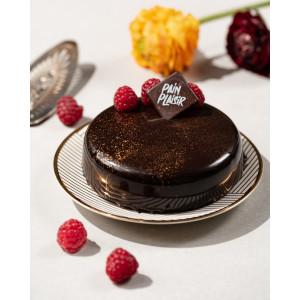 Tort ciocolată și zmeură 8 pers