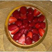 Tartă cu căpșuni 4  persoane